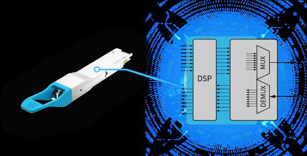 400GE QSFP-DD LR8 10km