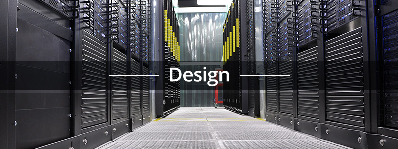 Data Center Design: Cost, Technology, Conciseness and Reconfigurability