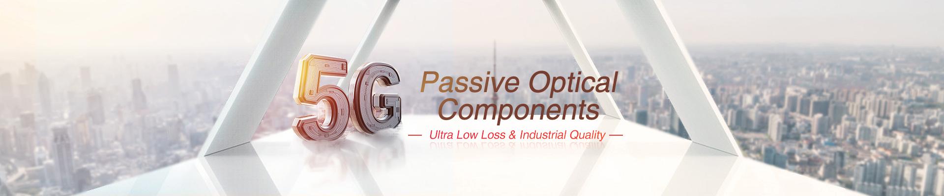 Componentes ópticos pasivos: pasivos WDM / CWDM / DWDM, CCWDM, AAWG, PLC Splitters, etc.