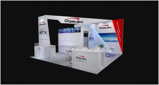 Gigalight's Booth #1507 at OFC 2018