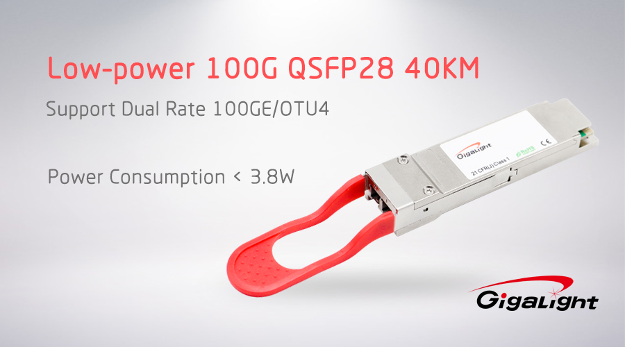 Gigalight 100G QSFP28 100G QSFP28 ER4 Lite Optical Transceiver