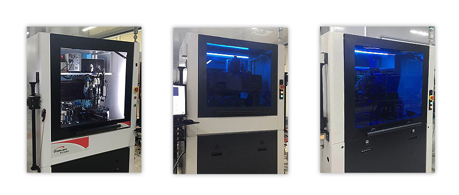 Gigalight's Self-Developed Fully-Automated Equipments for High-Speed Optical Devices