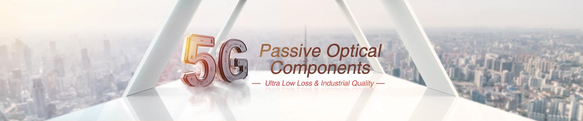 Componenti ottici passivi: WDM passivo / CWDM / DWDM, CCWDM, AAWG, Splitter PLC ecc.